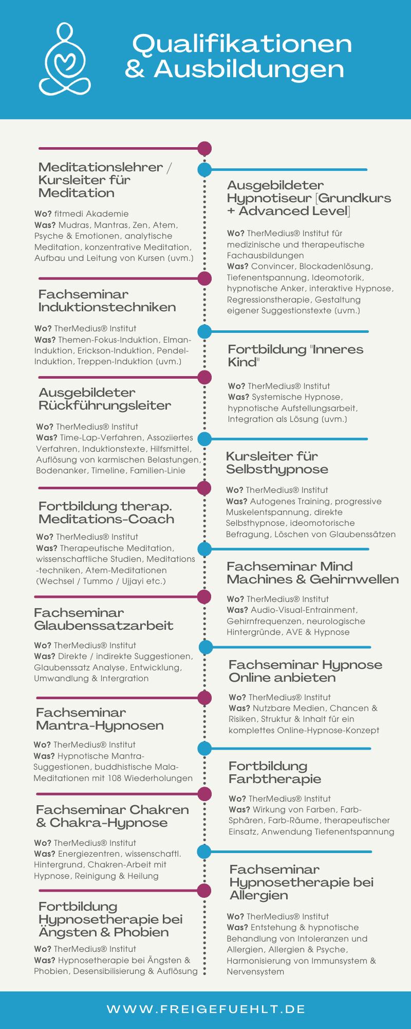 Infografik: Qualifikationen und Ausbildungen